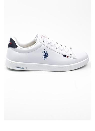 U.S. Polo Assn. Franco Wmn 1Fx Kadın Sneaker Beyaz